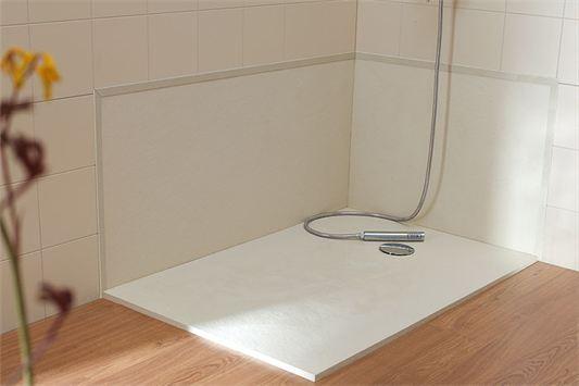 Baño Con Ducha Sin Plato:Cambie su bañera por un plato de ducha sin obra en Zaragoza – M&P