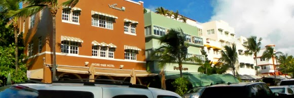 Miami Beach Art Deco Ocean Drive