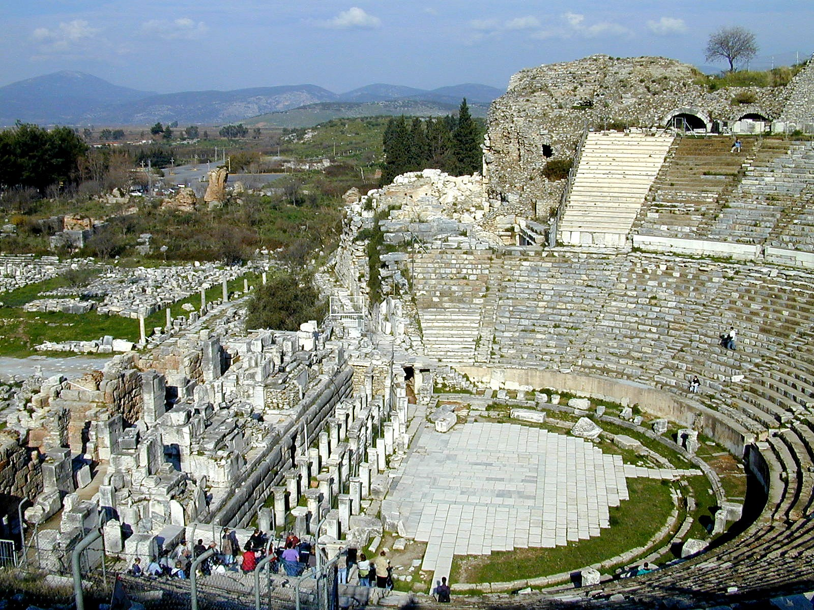 Bible and Archaeology - Online Museum: 47. Ephesian theater