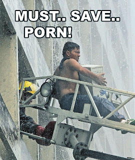 must save porn from fire