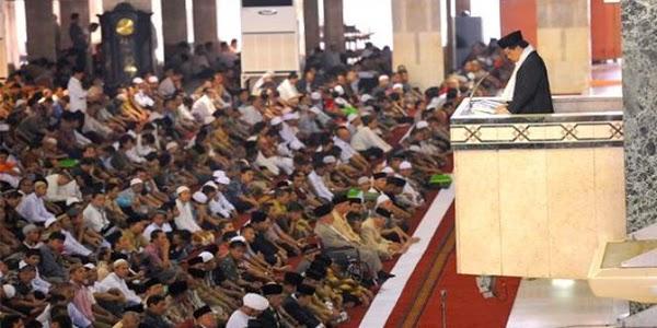 Khutbah jum'at pertama dan kedua tentang Isra' Mi'raj