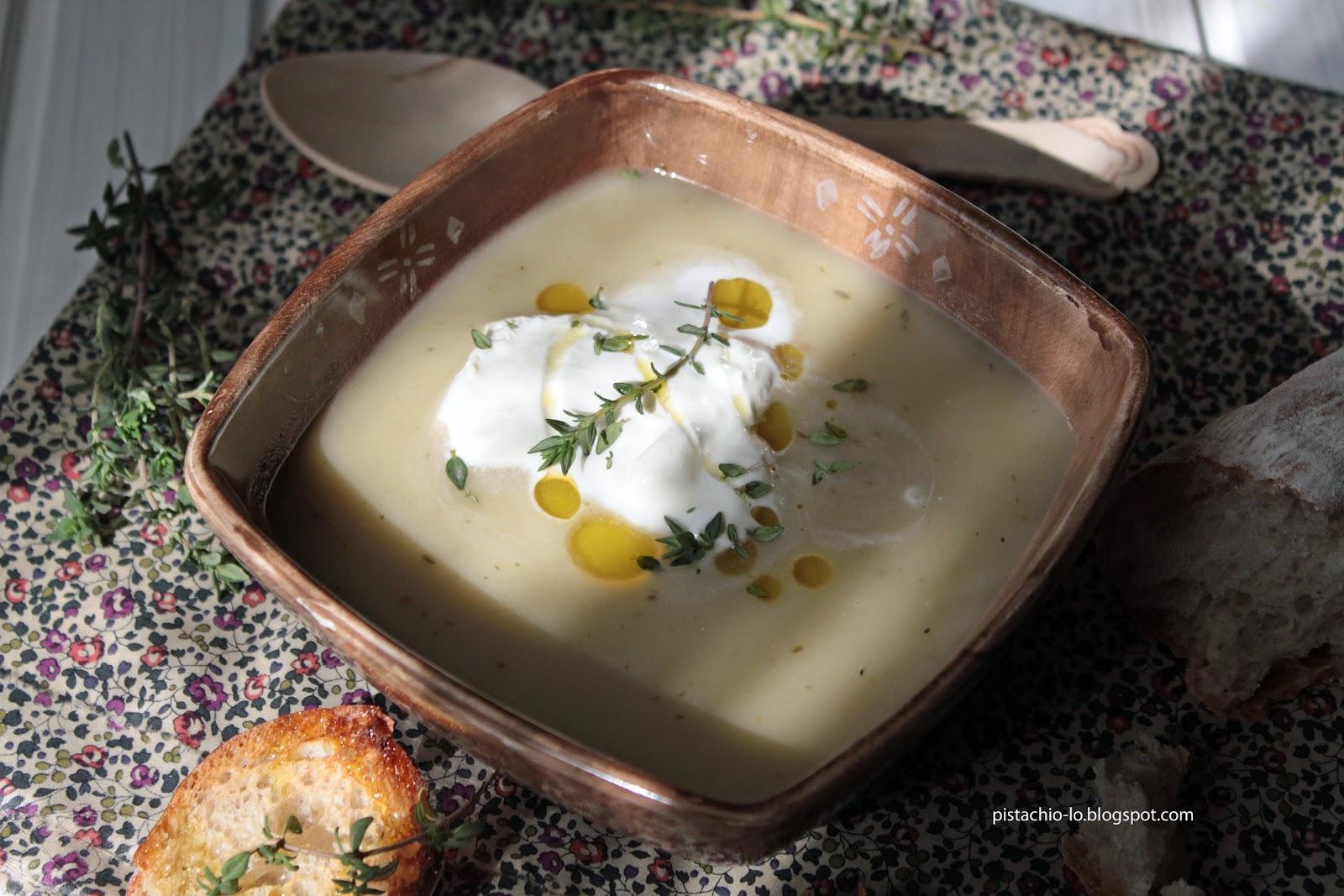 Pistachio: 44 ząbki czosnku i jesienna zupa.