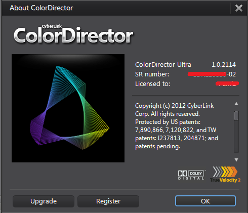Cyberlink colordirector 1 0 2114 eng