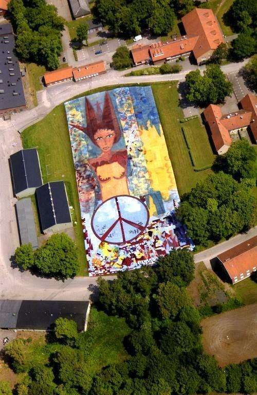 la pintura mas grande del mundo