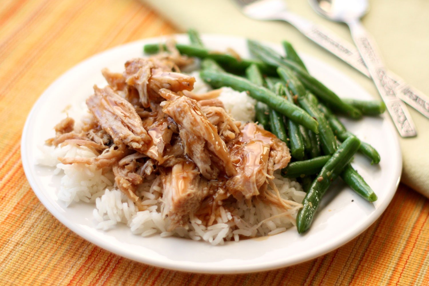 Slow Cooked Pork Roast with a Sweet Tangy Glaze ~ recipe by Barefeet ...