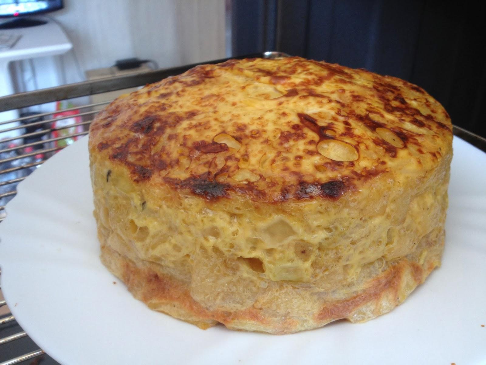 Tortilla de patatas muy alta en microondas la cocina es - Tortilla en el microondas ...