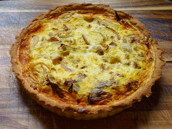 Sweet Potato and Caramelised Onion Quiche Recipe