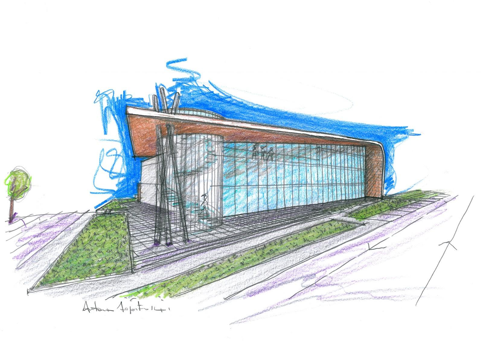 Vent 39 anni di disegni dell 39 arch antonio saporito il for Disegno di architettura online