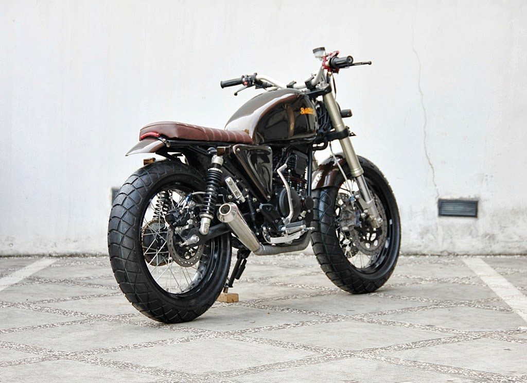 yamaha scorpio scrambler the brownie way2speed. Black Bedroom Furniture Sets. Home Design Ideas