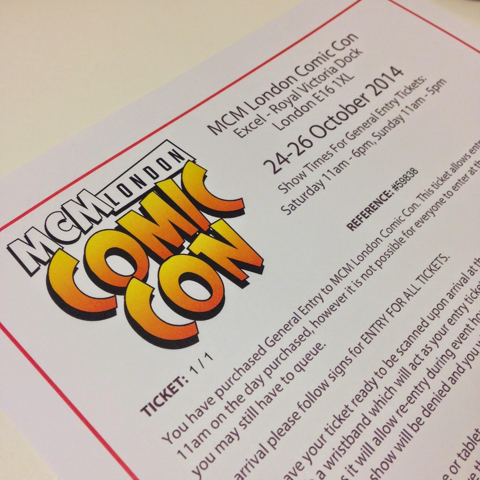 MCM London Comic Con 2014