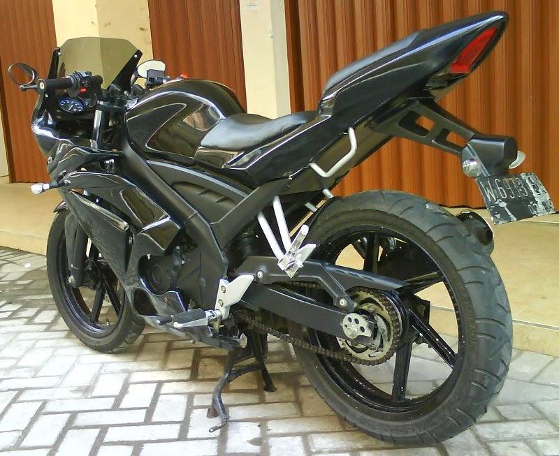 Modifikasi Yamaha Vixion Keren Terbaru