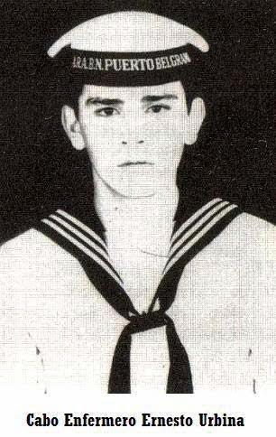 Cabo Enfermero Ernesto Urbina - Nottingham Malvinas - Veteranos de Guerra