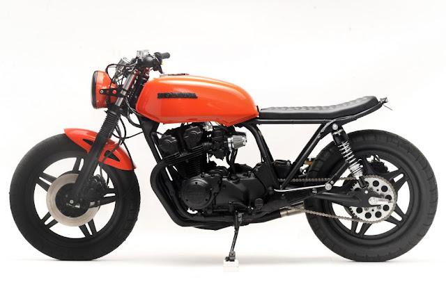 Racing Caf U00e8  Honda Cb 750 1980  U0026quot Midnight U0026quot  By Steel Bent
