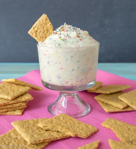 Cheesecake Cake Batter Dip Recipe