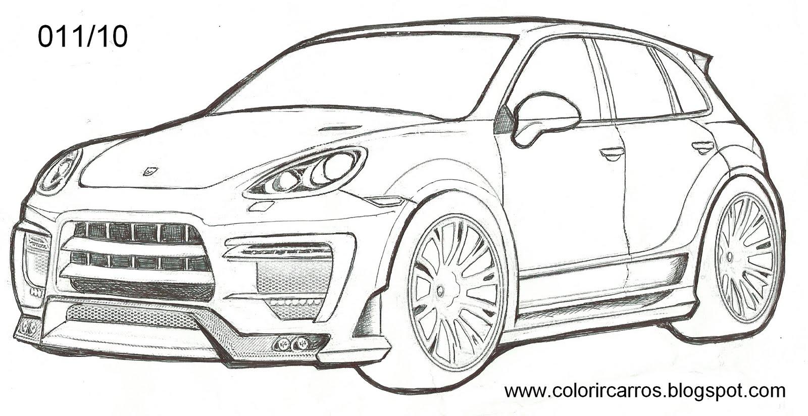imagens para colorir no paint de carros