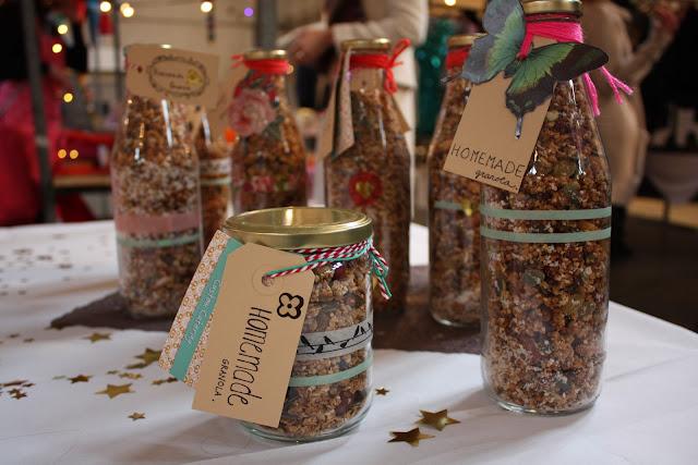 neighbourfood, markt, flessen, labels, granola,