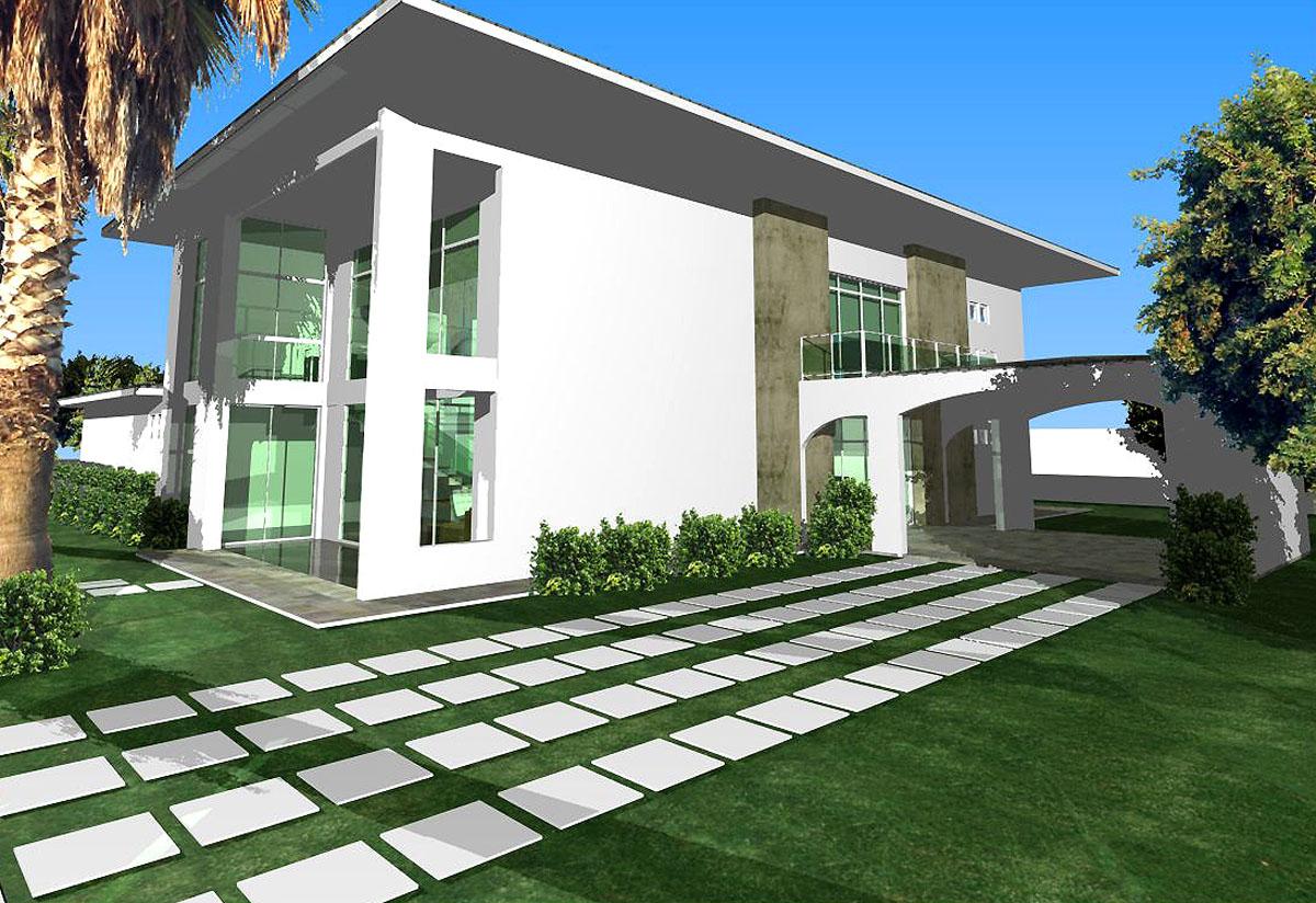 De Casas Residenciais Fotos E Decoracao Projetos Fachadas Picture #016CCA 1200 824