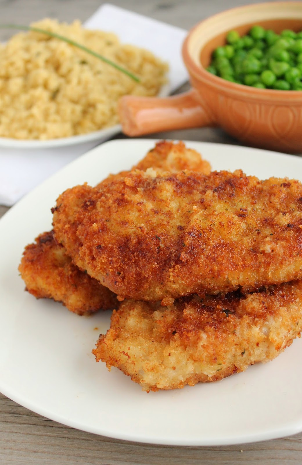 Baking with Blondie : Breaded Pork Chops