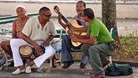 MUSICIANS IN VINALES
