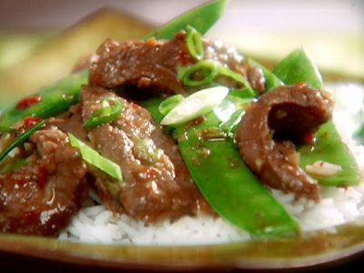 Stir-fried Beef With Chillies