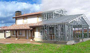 Jos carlos alvarado estructuras metalicas - Estructura metalicas para casas ...