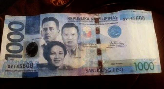 fake P1,000 bill