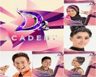 Semua lagu konser final grup 2 babak 25 besar D'Academy 2 lengkap