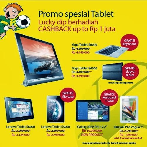 Tablet Promo di MBC (Mega Bazaar Consumer Show) 2014
