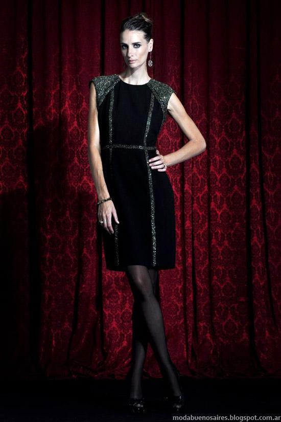Solo Ivanka moda vestidos invierno 2013