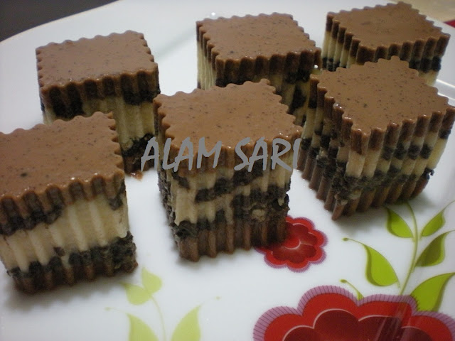 HEAVENLY MILO & OREO JELLY (AGAR-AGAR MILO LAPIS OREO)