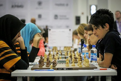 L'équipe de France féminine d'échecs a pris un bon départ en battant 3,5-0,5 la Malaisie - Photo © site officiel