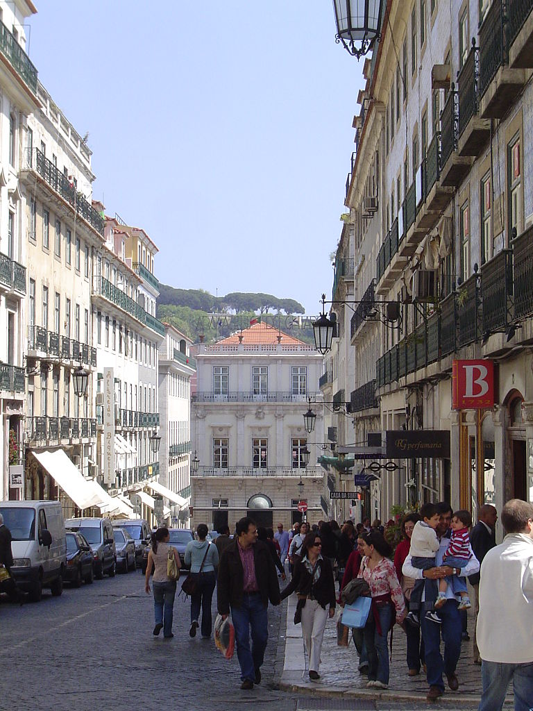 Garrett Street in the Chiado