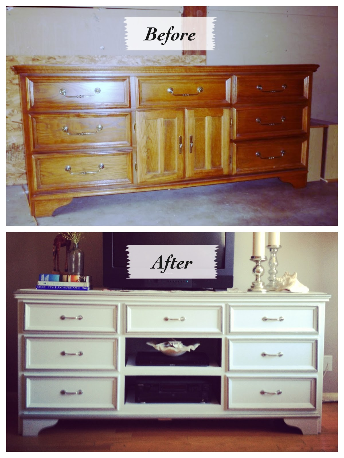 Turned to design going back in time an old dresser redo How to redo your room without spending money