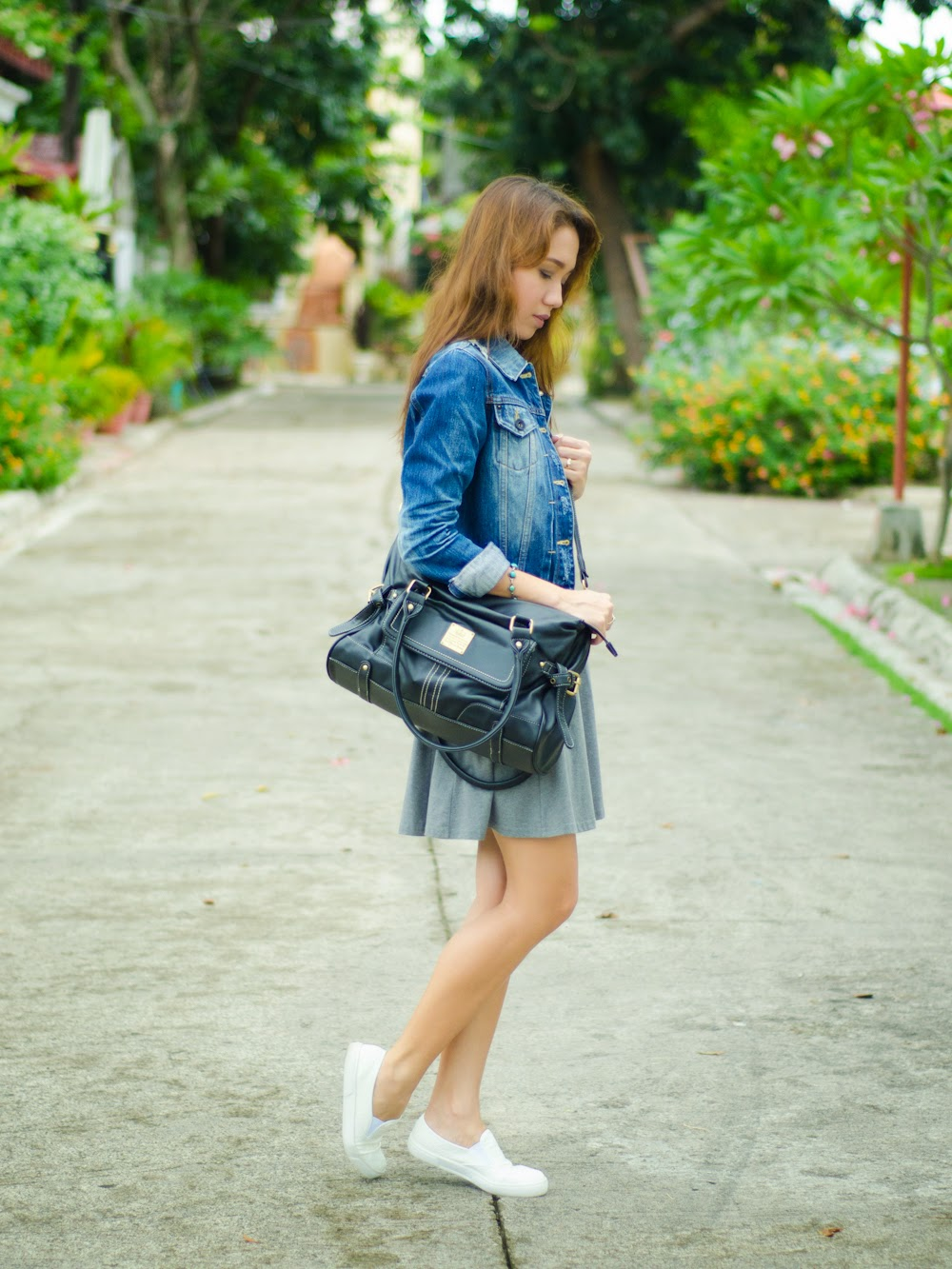 Skate shoes in cebu - Forever21 Dress And Topshop White Sneakers