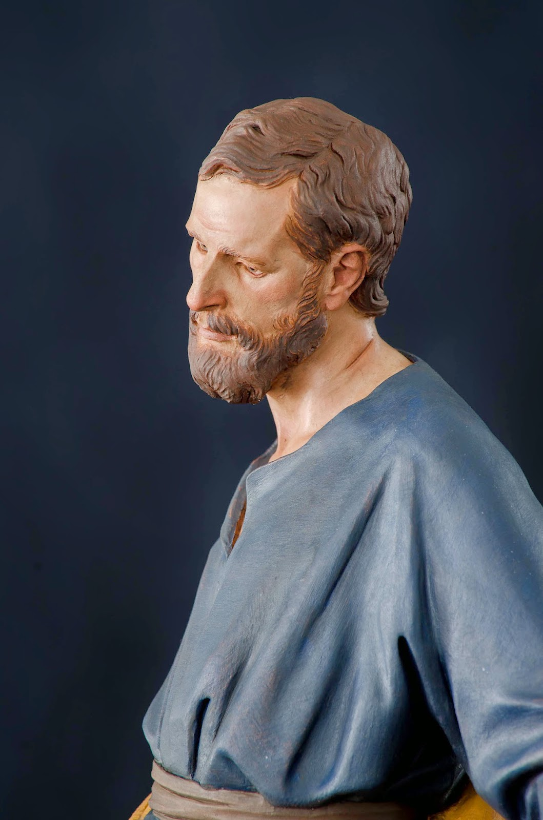 Nacimiento Belén Nativity presepe krippe Arturo Serra Barro cocido 22