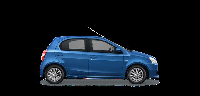 Toyota Etios Valco Biru
