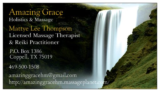 Amazing Grace Holistics &amp; Massage
