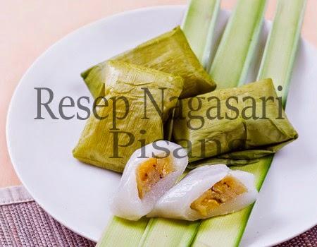 Resep Kue Nagasari Pisang Praktis | Resep Kue dari Bahan Tepung Beras
