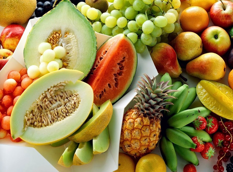 aneka buah tropis dari Indonesia