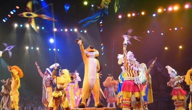 Musical do Rei Leão no Animal Kingdom