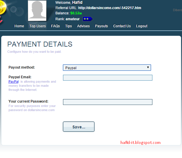 payment details dollarsincome
