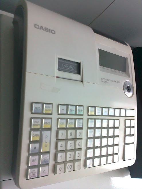Mesin cash registern 2000 PLU CASIO