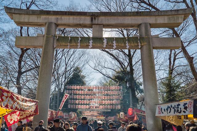 2016年元旦 大国魂神社(東京都府中市) 初詣