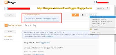 Cara Membuat Blog Di Blogspot Tampilan Terbaru 6