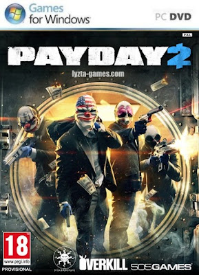 Payday 2 PC Cover