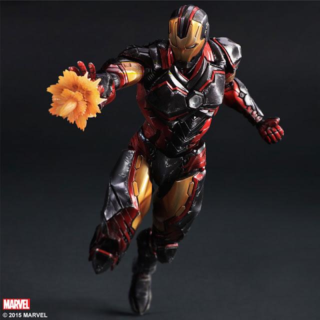 iron man action figure play arts