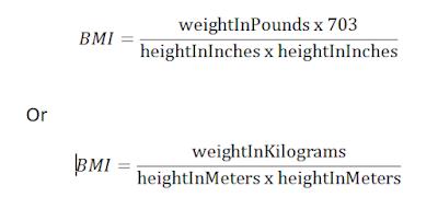 BMI Calculator Formular