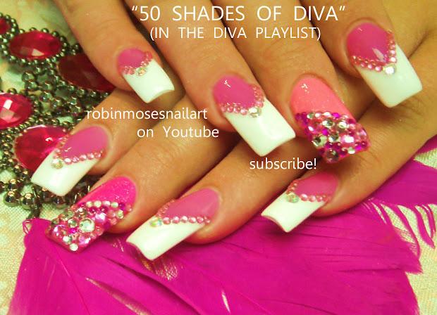nail art design 50 shades of diva