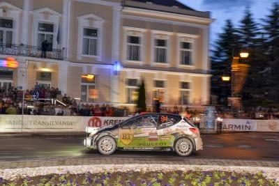 Simone Tempestini si Dorin Pulpea - Peugeot 207 S2000 - Transilvania Rally 2014