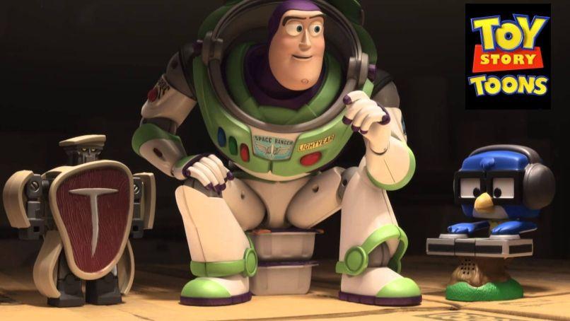 Extra Small un divertido corto de Toy Story Toons.